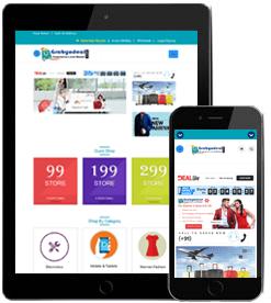 e-commerce website development India