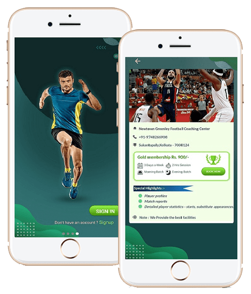sports application