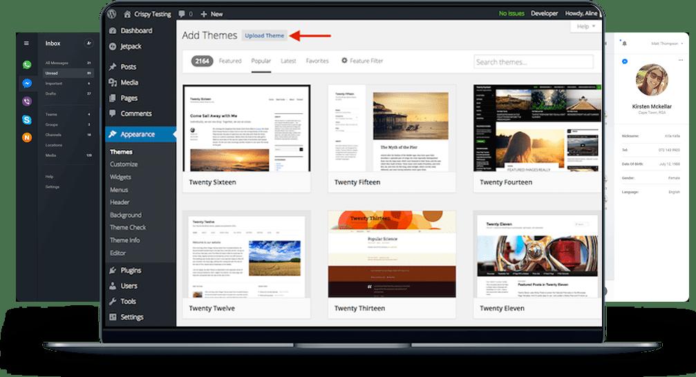 wordpress blog design